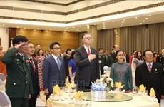 越南-美国建交25周年纪念仪式在河内举行