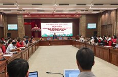 迎接党的十三大:越共河内市第十七次代表大会各项准备工作就绪