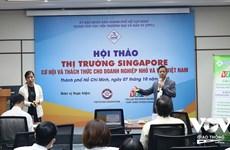 新加坡——越南中小企业走向世界的桥梁