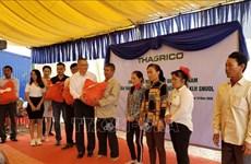 在柬埔寨的越南农业项目协助越裔柬埔寨人进行职业转型