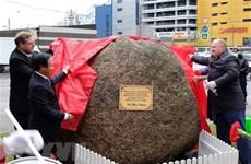 越南与俄罗斯配合在圣彼得堡市竖立胡志明主席雕像