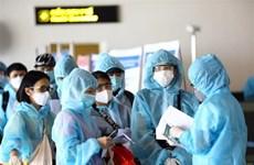 新冠肺炎疫情:在新加坡滞留的近360名越南公民安全回国