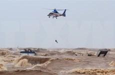 政府总理对成功营救海上遇险船员的救援力量给予表彰