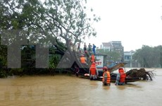 承天顺化省暴雨引发洪水致6人死亡、3人失踪