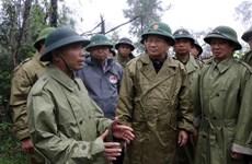 郑廷勇副总理:紧急寻找在捞庄三号水电站地区山体滑坡的30名失踪人员