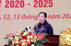 迎接党的十三大:阮青海同志和潘越强同志再次当选太原省委书记和广南省委书记