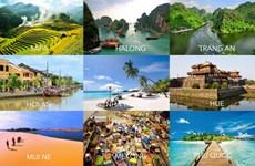 越南跻身全球最受欢迎的旅游胜地前20国名单