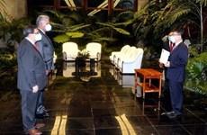 古巴领导人高度评价古巴与越南的模范关系