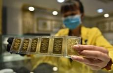 10月16日上午越南国内黄金价格回升