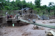 越共中央书记处:加强中部各省暴雨洪水防范和抢险救灾工作