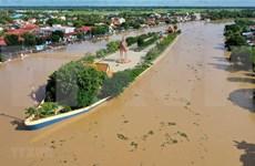 柬埔寨磅士卑省堤坝面临溃坝风险