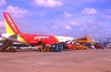 越南各家航空公司因中部天气恶化而调整航班执行计划