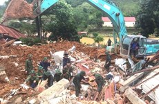 越南政府总理指导在广治与承天顺化省开展抢险救灾工作