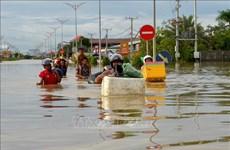 越南政府总理就柬埔寨水灾造成严重的人员和财产损失向洪森致慰问电