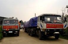 越南国家储备局向受灾各省发放5000吨大米
