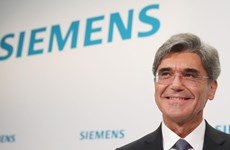 德国西门子集团总裁呼吁德国企业对越南进行投资