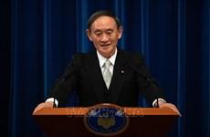 日本首相菅义伟开始对印尼进行访问