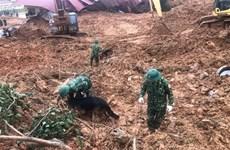 在广治省向化县山体滑坡事件牺牲的22名干部战士追悼会将于22日举行