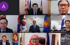 东盟-韩国联合合作委员会会议以视频形式举行