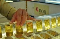 10月21日上午越南国内黄金价格上涨7万越盾