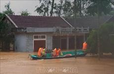 各国领导就越南中部遭受严重洪涝灾害致慰问电