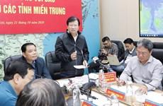 政府副总理郑廷勇:主动制定第8号台风应急预案  集中救助中部受灾群众