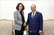 越南政府总理阮春福会见世界银行驻越南首席代表特克