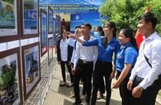 """""""黄沙长沙归属越南-历史证据和法律依据""""图片资料展在茶荣大学举行"""
