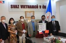 旅居捷克和波兰越南人发起为中部灾区民众捐助活动