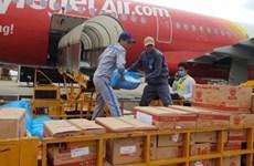 越捷航空从每张机票款中捐一万越盾善款为中部灾民解难