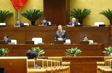 越南第十四届国会第十次会议:讨论两部法案