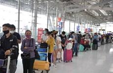 滞留菲律宾的240余名越南公民安全回国