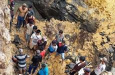 印度尼西亚一煤矿发生塌方致11人死亡
