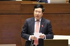越南第十四届国会第10次会议:确保边境地区乡级人民委员会签署国际协定的质量和能力