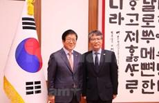 """韩国国会议长朴炳锡:越南是韩国""""新南方政策""""的核心合作伙伴"""
