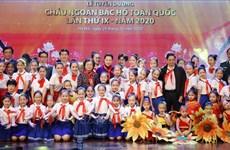越南国会主席阮氏金银出席第九届全国胡伯伯好孩子表彰大会