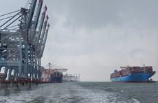 巴地头顿迎来世界超大型集装箱船