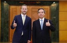 越共中央经济部部长阮文平:越南党和国家一直重视越美全面伙伴关系