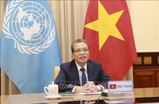 越南呼吁国际社会协助巴勒斯坦克人民克服危机