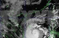 第9号台风加强至14级 阵风17级 台风中心位置位于岘港至富安海域