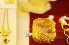 28日上午越南国内黄金价格每两上调5万越盾
