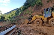 广南省南茶媚县泥石流事故:已经找到第八名遇难者遗体