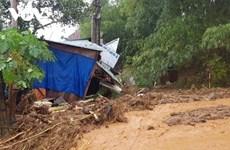 广南省南茶媚县茶棱乡发生严重的泥石流事故,致使53人被掩埋