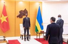 卢旺达总统希望进一步推进与越南的友好合作关系