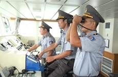 海军军种增派两艘渔检船参与平定省26名渔民搜救工作