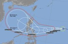 第10 号台风预计下周进入越南中部