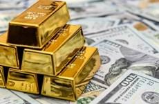 30日上午越南国内黄金价格每两下降10万越盾