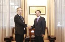 促进越南与日本深广战略伙伴关系