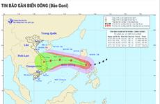 超强台风天鹅11月2日进入东海 可继续影响越南中部地区