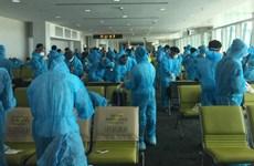 新冠肺炎疫情:将滞留在文莱的近240名越南公民接回国